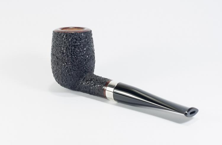 Ruslan Sharyga rusticated billiard with silver ring